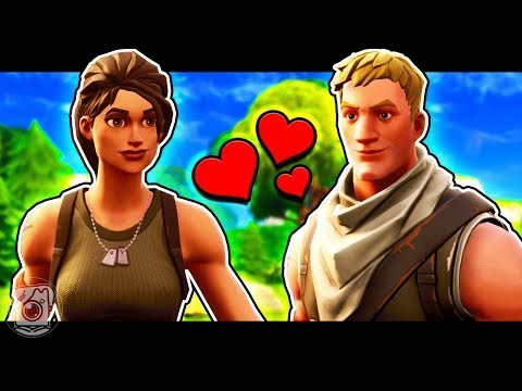 TWO NOOBS FALL IN LOVE - A Fortnite Short Film