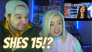 Casey Bishop American Idol Audition 2021 | COUPLE REACTION VIDEO