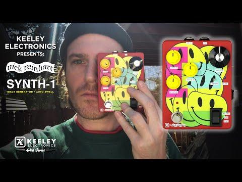 Keeley Synth-1 Nick Reinhart Artist Edition Guitar Effects Pedal