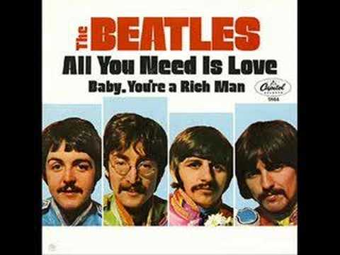 All You Need is Love- The Beatles (Studio Recording)