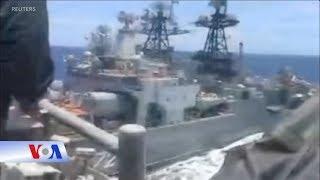Hai tàu chiến suýt đụng nhau, Nga-Mỹ đổ lỗi qua lại (VOA)