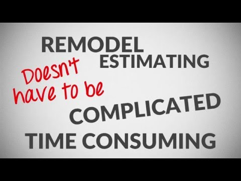Remodel Cost Estimating Spreadsheet Software