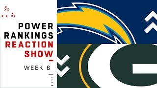 NFL Power Rankings Reaction Show: Super Bowl Contender in the Third Spot? | NFL Network