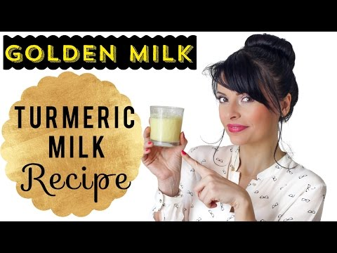 Golden Turmeric Milk: Recipe & Benefits || Beauty Food Tips