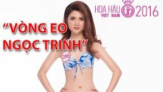 """(VTC14)_Thí sinh Hoa hậu Việt Nam có """"vòng eo Ngọc Trinh"""""""