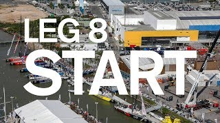 Leg 8 Start – Itajaí to Newport – Full Replay | Volvo Ocean Race