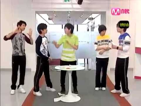 SHINee- Kissing Game and other games...