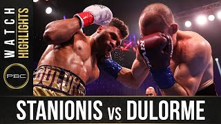 Stanionis vs Dulorme HIGHLIGHTS: April 10, 2021 | PBC on SHOWTIME