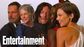 Dead & Loving It! 'The Walking Dead' Celebrates 100 Episodes | Cover Shoot | Entertainment Weekly