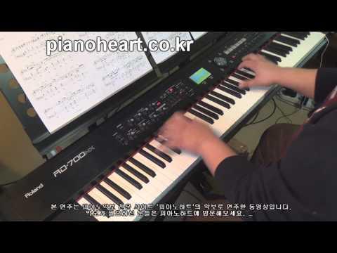 부활 - Never Ending Story 피아노 연주,RD-700NX