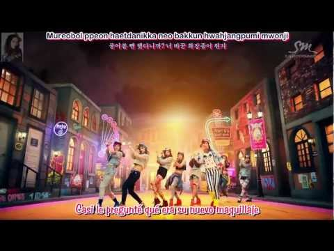 Girls' Generation (SNSD) - I Got A Boy - Sub. Español - (Rom-Han)