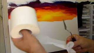 Leonid Afremov – Live painting – Sample Lesson