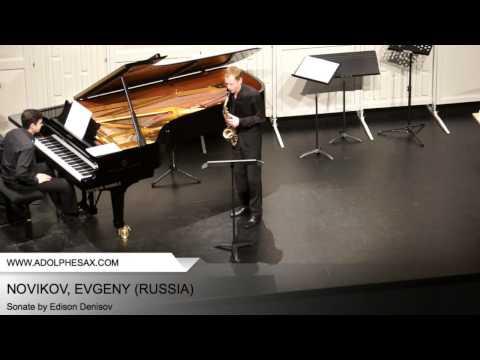Dinant 2014 - NOVIKOV, EVGENY (Sonate by Edison Denisov)