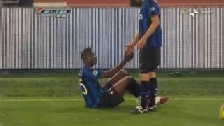 INTER-ROMA 1-0 - caccia all'uomo