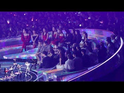 181201 BTS, GIDLE, MAMAMOO Reaction to BLACKPINK (블랙핑크 무대 보는 방탄소년단 마마무 여자아이들) 4K 직캠 by 비몽