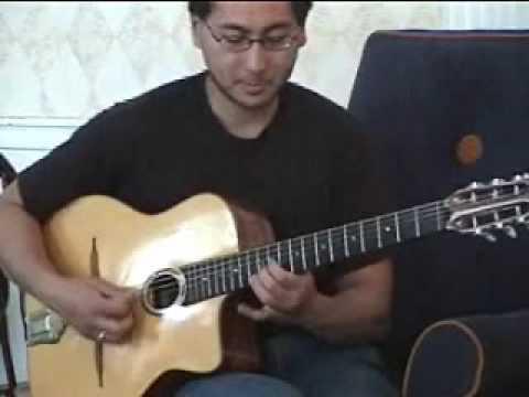 Dennis Chang gypsy jazz guitar lesson (7th chords)