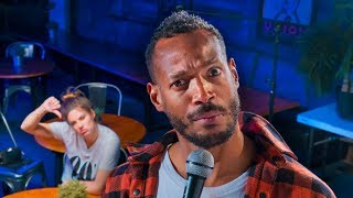 Dealing with a Heckler | Marlon Wayans & Hannah Stocking