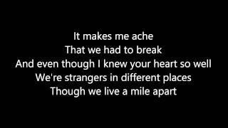 Love's To Blame with Lyrics