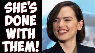 Daisy Ridley proves Disney Star Wars was a LIE! Vindicates critics of Kathleen Kennedy!