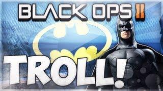 HILARIOUS Black Ops 2 BATMAN Glitch TROLL!