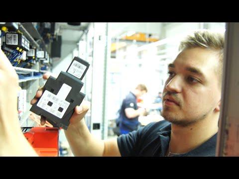 Ausbildungsberuf Elektroniker/in für Betriebstechnik bei Blumenbecker