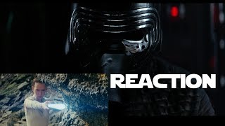 KYLO REN REACTS to The Last Jedi Trailer