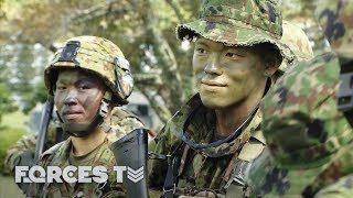 British Army Trains In Japan For The First Time | Forces TV