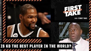 Magic Johnson answers: Has KD passed LeBron as the best player in the NBA?   First Take