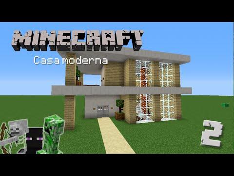 Casa moderna 1 construcci n en minecraft for Casa moderna lyna