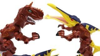 Khủng long lai ghép Carnotaurus Ichthyosaurus Jurassic World Dinosaurs Mashers
