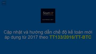 Chế độ kế toán cho DN SME từ 2017 | TT133/2016/TT-BTC