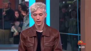 'Troye Sivan reveals his intimate friendship with Taylor Swift & Ariana Grande' 10/7/18