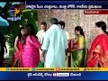 CM Chandrababu attend MP Nani Daughter Marriage