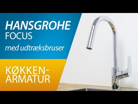 PRODUKT | Hansgrohe Focus m/udtræksbruser køkkenarmatur