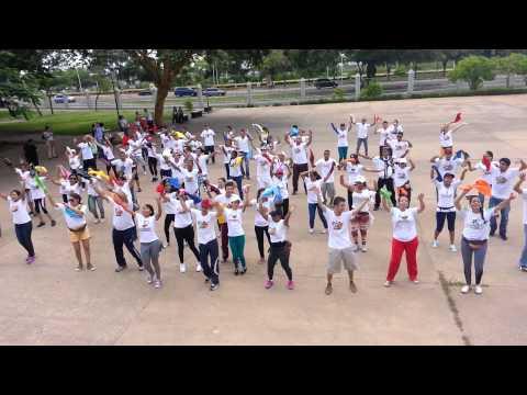 Flashmob JUFRA en su Encuentro Nacional 2014