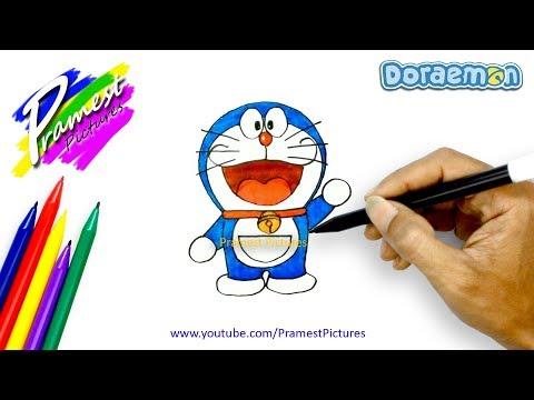 How To Draw And Colour Cartoon Santa Claus Videomoviles Com