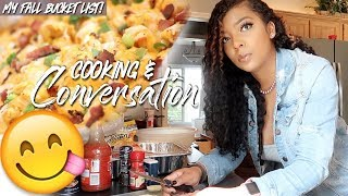 COOK WITH ME: LOADED POTATO CASSEROLE 😋