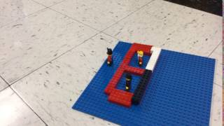 2/3rd grade Thurgood Marshall stop motion scene from bio