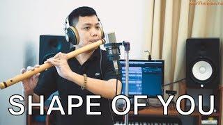 SHAPE OF YOU - Bansuri | Flute cover | Master of Flute
