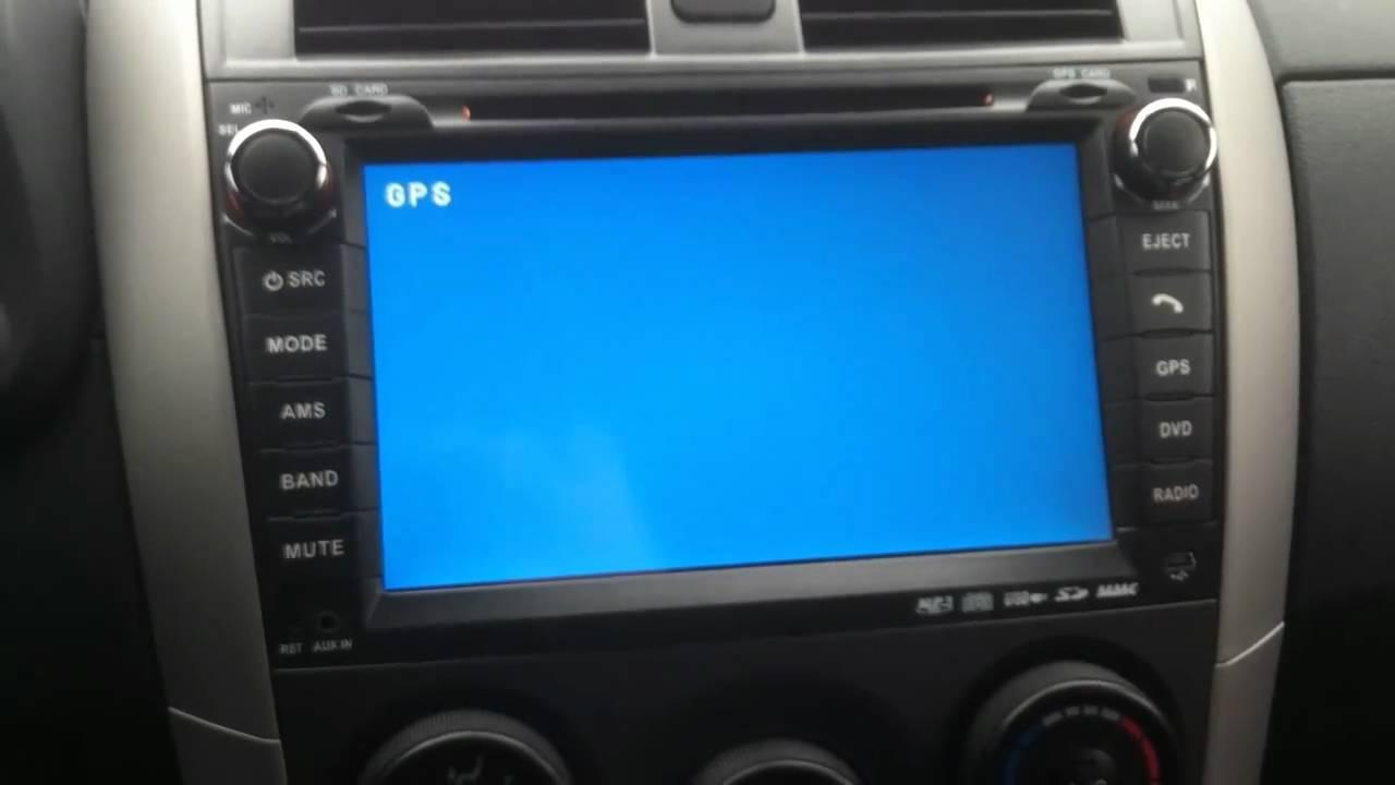 2010 Toyota Corolla S >> 2010 Toyota Corolla DVD GPS BLUETOOTH OEM BACKUP CAMERA ...