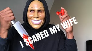 I SCARED MY WIFE ! (MUST WATCH)
