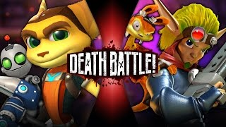 Ratchet & Clank VS Jak & Daxter | DEATH BATTLE!