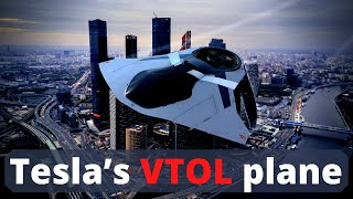Tesla's Electric VTOL Airplane, will change aviation forever