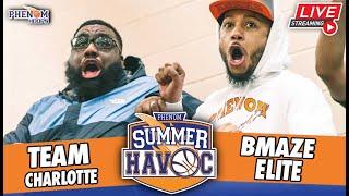 Team Charlotte 🆚 BMaze Elite [17u] Phenom Summer Havoc ➡️ Night 1 - Arena Court [2 Games]