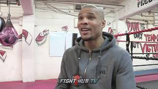"CHRIS EUBANK JR ""DEGALE IS GETTING KNOCKED OUT, STOPPED! IM TOO HUNGRY FOR THIS!"""