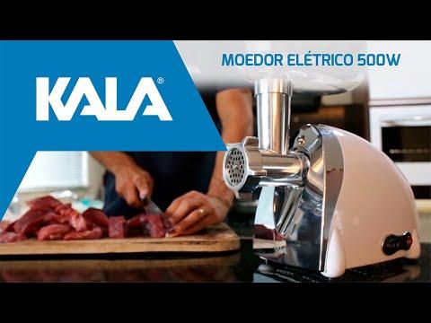 Moedor de Carne Elétrico 500W Kala 127V - Vídeo explicativo