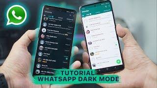 Tutorial WhatsApp Dark Mode ☽ Resmi Tanpa ROOT & MOD di Android