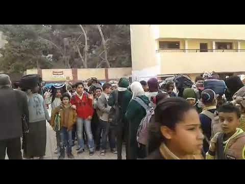 """خطة اخلاء مدرسة محمد فريد """"فترة صباحية"""" - إدارة المعادي التعليمية"""