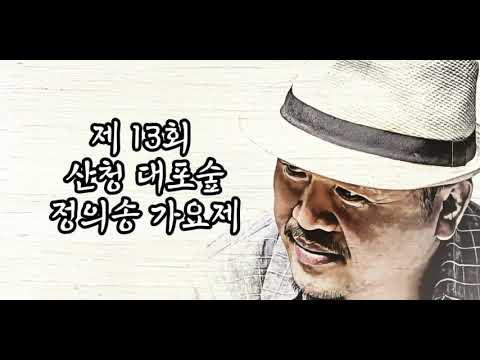 제13회 산청대포숲 정의송가요제 유튜브