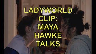 LADYWORLD CLIP: MAYA HAWKE TALKS LEADERSHIP DYNAMICS IN SURREAL POST-APOCALYPTIC SUSPENSE FILM